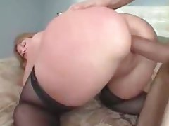 Anal, Big Boobs, Creampie, Granny