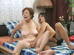 Brunette, Granny, Hardcore, Mature