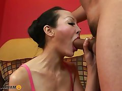 Anal, Asian, Big Boobs, Brunette