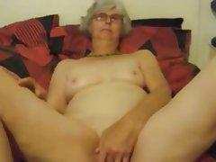 Amateur, Granny, Masturbation, Mature