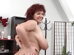 Big Boobs, German, Mature, MILF, Redhead