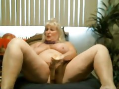 Dildo, Mature, Webcam, Fucking