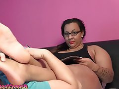 Arab, BBW, Close Up, Femdom, Foot Fetish
