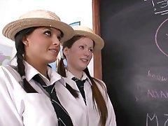British, Babe, Lesbian, Teacher