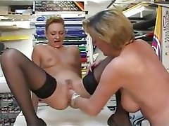 Anal, Lesbian, Mature, French, Fisting