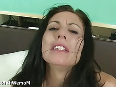 Blowjob, Brunette, Mature, Squirt