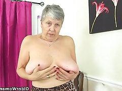 MILF, British, Granny, Mature