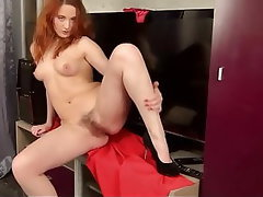 Hairy, Mature, Redhead, Granny, Russian