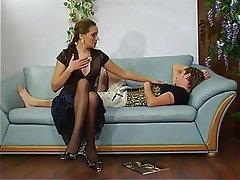 Mature, Teen, Pantyhose, Russian