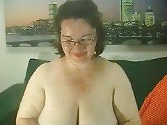 BBW, Big Boobs, Lingerie, Granny, Mature