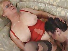 Granny, Lesbian, Masturbation, Mature
