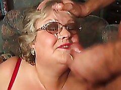 Cumshot, Granny, Mature