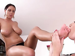 Babe, Big Tits, Blowjob, Feet, Fetish
