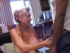 Blowjob, Creampie, Interracial, Mature, Old and Young