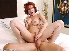 Asian, Babe, Big Cock, Big Tits, Cumshot