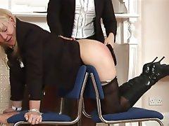 BDSM, Femdom, Mature, Spanking