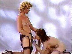 Anal, Femdom, Lesbian, Stockings, Strapon
