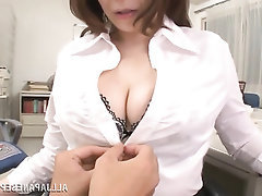 Asian, Blowjob, Creampie, Mature