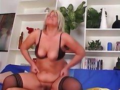 Anal, Blonde, Mature, Stockings