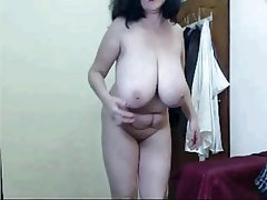 Amateur, Big Boobs, Granny, Mature, Webcam