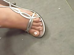 Foot Fetish, MILF, Mature
