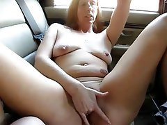 Amateur, Granny, Masturbation, Mature, Outdoor