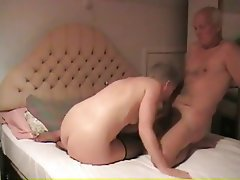 Amateur, Blowjob, British, Granny