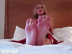 BDSM, Femdom, Foot Fetish, POV, Stockings