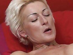 Blonde, Cumshot, Mature, MILF