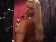 BDSM, Lesbian, Blonde, Brunette, Femdom