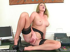 British, Mature, MILF, Secretary